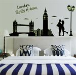Wall Stickers - London, City of dreams