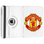 Roterende Fodbold Etui til iPad Air - Manchester United