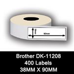 Brother kompatible labels DK-11208