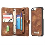 CaseMe Flap Pung til iPhone 6 / 6S - Coffe