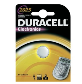 Image of   Duracell Lithium 2025 BG1