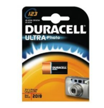 Image of   Duracell Ultra Lithium 123 (CR17345) BG1
