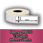 DYMO labels 99010 - Fra 29 kr (89mm x 28mm) 130 stk. labels