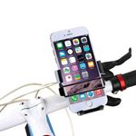 HAWEEL Universal roterende cykel/mc holder 49mm-75mm