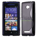 S-Line HTC 8X Silicone Cover - Sort