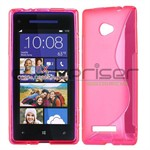 S-Line HTC 8X Silicone Cover - Pink