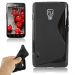 S-Line Silikone Cover LG Optimus L7 2 (Sort)