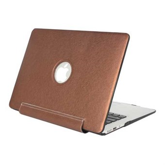 "Image of   Macbook Pro Retina 15.4"" Silk Texture Case - Brun"