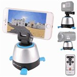 PULUZ® Electronic 360° Panorama Tripod Head med Remote til GoPro/ Smartphone/ Kamera