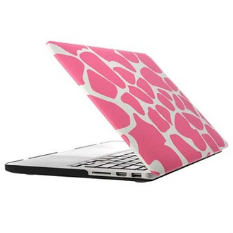 "Image of   Macbook Pro Retina 15.4"" Hard Case - Leopard Pink"