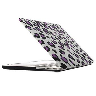 "Image of   Macbook Pro Retina 15.4"" Hard Case - Leopard Purple"