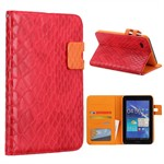 Turtle Design Case - Samsung Galaxy Tab 7.0 / 2 7.0 (R�d)