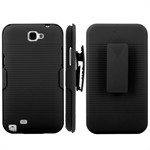 Smart Clips Cover - Galaxy Note II (Sort)