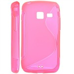 S-Line Silikone Cover til Galaxy Y Duos (Pink)