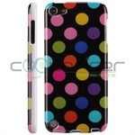 iPod Touch 5/6 Cover Dots (sort, multicolor)