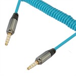 Snoet 3.5 mm Audio AUX Kabel 15 cm - 150 cm - Blå