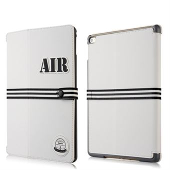 Image of   Baseus iPad Air 2 Basball Serie etui - Hvid