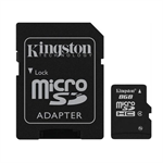 Kingston 8gb microsdhc class 4