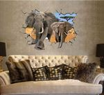 Wall Stickers - Elefant 3D