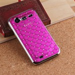PRISKRIG - HTC Incredible S Diamond Cover (pink)