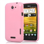 HTC ONE X - Silikone Cover (Babypink)