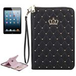Crown Diamond Pung Etui- iPad 2/3/4 (Sort)