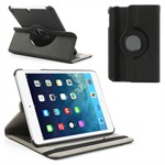 Textil Roterende Etui - iPad Mini (Sort)