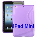 S-Line iPad mini Silikone Cover (Lilla)