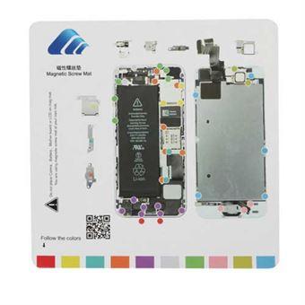 Magnetisk skruemåtte 20 x 20 cm iPhone 5S