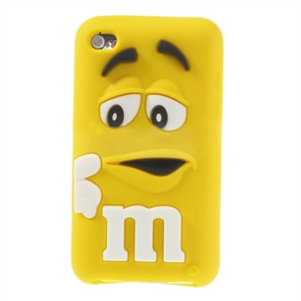 Image of   M&M iPod Touch 4 Silikone Cover (Gul)