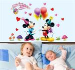 Wall Stickers - Mini & Mickey Mouse