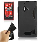 S-Line silikone Cover Lumia 928 (Sort)