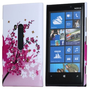 Image of   Lumia 920 Bling Motiv cover - Blomster