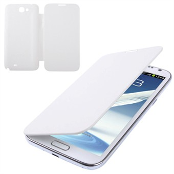 Image of   Front and Back Galaxy Note 2 cover (Hvid)