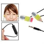 Magic Blyant Earphone m. Mic (Gul)