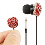 Red Rose Earphones