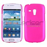 Simpel Plastik Cover Galaxy S3 Mini (Magenta)