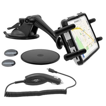 Image of   American Arkon ® Car Mount Grip W. Android Charger