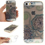 Modern art silikonecover til iPhone 5/5S/SE - Flower Punk