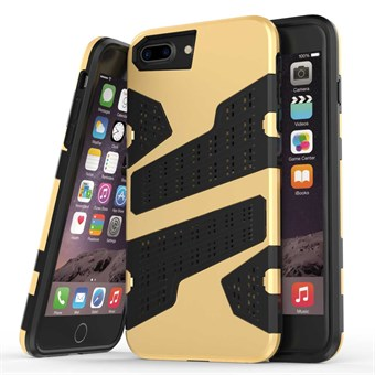 Image of   Mili camouflage cover til iPhone 7 Plus / iPhone 8 Plus - Guld
