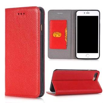 Image of   Just a case etui til iPhone 7 Plus / iPhone 8 Plus - Rød