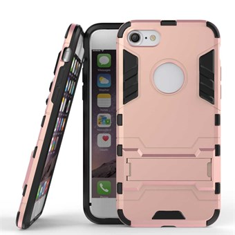 Image of   TPU og plastcover til iPhone 7 / iPhone 8 - Rose guld