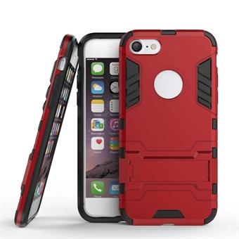 Image of   TPU og plastcover til iPhone 7 / iPhone 8 - Rød