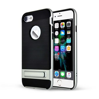 Image of   Fiction plast cover til iPhone 7 / iPhone 8 - Sølv