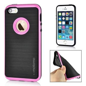 Motomo smart silikonecover til iPhone 5/5S/SE - Pink