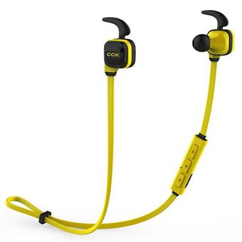 Image of   CCK Sports Trådløse Bluetooth Earphones m/ mic. - Gule