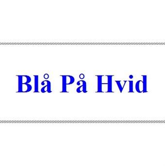 Image of   Blå på Hvid 12mm Dymo D1 Tape (45014)