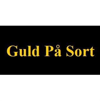 Image of   Guld På Sort 12mm Dymo D1 Tape (45024)