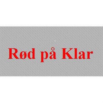 Image of   Rød På Klar 12mm Dymo D1 Tape (45012)