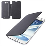 Front and Back Galaxy Note 2 cover (Sort)